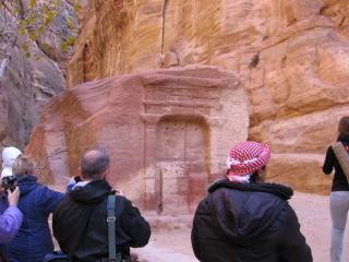 обои Экскурсия в старинную Петру фото