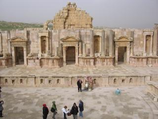 обои Архитектура древней Герасы фото
