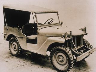 обои Очень старый Jeep фото