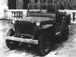 обои Старый военный Jeep фото