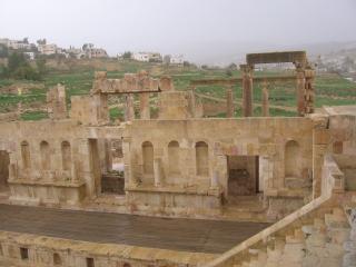 обои Фрагмент архитектуры древней Герасы фото
