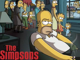 обои народ из the simpsons фото