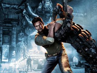 обои Uncharted 2 Among Thieves удушье фото