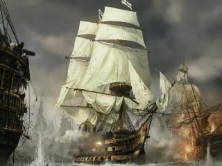 обои Наполеон Тотальная война на караблях фото