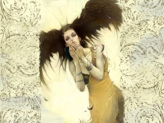 обои Мистическая девушка фото