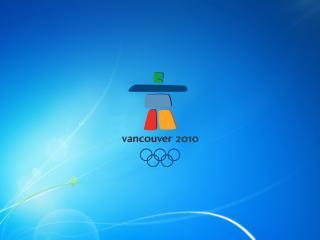 обои Фон windows7 на тему олимпиады в Ванкувере фото