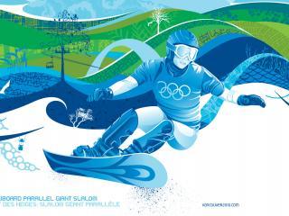 обои Ванкувер Сноуборд parallelg giant slalom фото