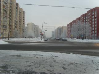 обои Зимняя улица фото