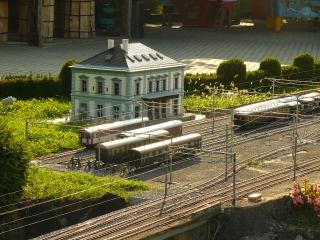 обои для рабочего стола: Швейцария, вокзал в  Лугано