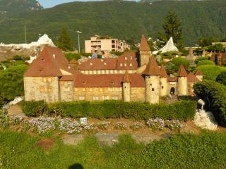 обои Швейцария, замок в Лугано фото