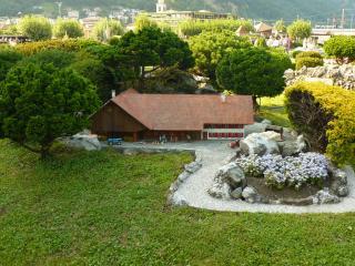 обои для рабочего стола: Швейцария, частный домик в Лугано