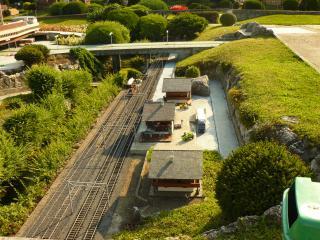 обои Швейцария, жд станция в Лугано фото