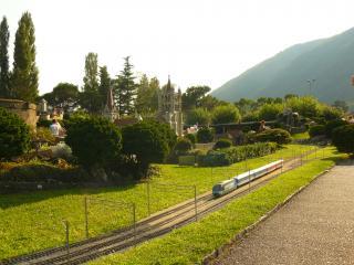 обои Швейцария в миниатюре, Железная дорога фото