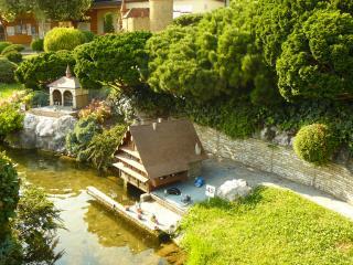 обои для рабочего стола: Швейцария в миниатюре, Пристань