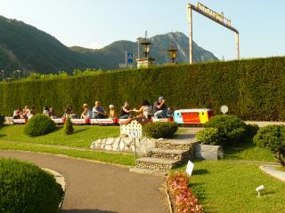 обои Швейцария в миниатюре, Мини-железная дорога фото