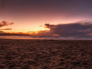 обои Небо на закате фото