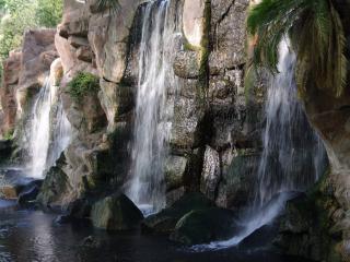 обои Звонкий водопад фото