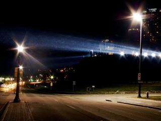 обои Ночное освещение фото