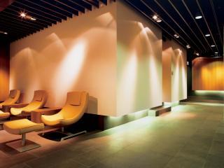 обои Комната отдыха в аэропорте Люфтганза фото
