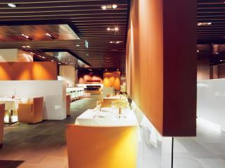 обои Ресторан в аэропорте Люфтганза фото
