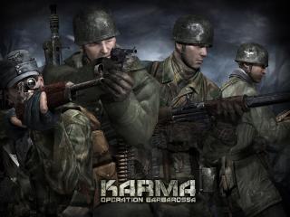 обои Games Karma Operation Barbarossa фото