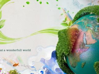 обои Зелённый мир фото
