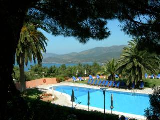 обои Панорамный вид на побережье Тосканы фото