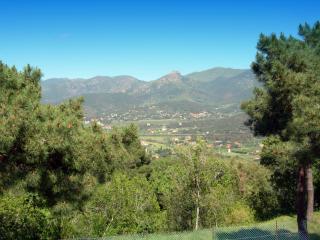 обои Панорамный вид на горы Тосканы фото