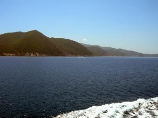 обои Вид на берега Тосканы фото