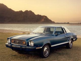 обои Ford Mustang 1977 фото