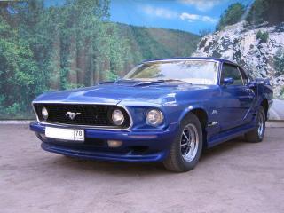 обои для рабочего стола: Ford Mustang RetroAvto