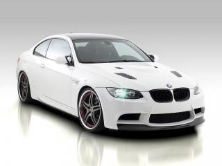обои Vorsteiner BMW M3 Coupe GTS3 (E92) 2009 бочком фото