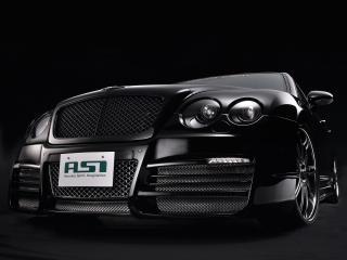 обои ASI Bentley Continental Flying Spur 2008 крутой передок фото