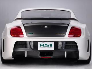 обои ASI Bentley Continental GT Tetsu GTR 2009 сзади фото
