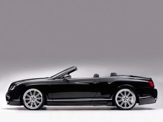 обои ASI Bentley Continental GTC 2008 бок фото