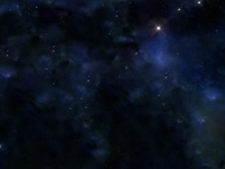 обои Туманности в спокойной галактике фото