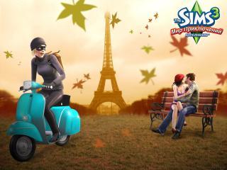 обои Игра Sims 3 фото