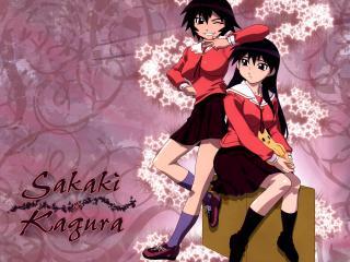 обои Sakaki and Kagura фото