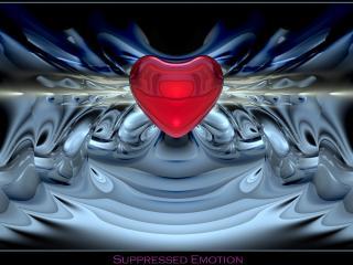 обои Сердце среди графики фото