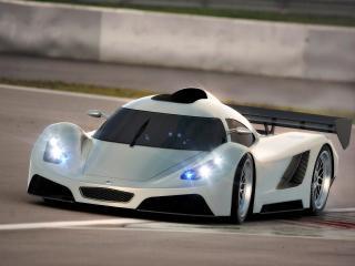 обои 2005 I2B Concept Project Raven Le Mans Prototype блики света фото