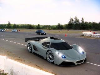 обои 2005 I2B Concept Project Raven Le Mans Prototype на обочине фото