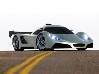 обои 2005 I2B Concept Project Raven Le Mans Prototype на трассе фото