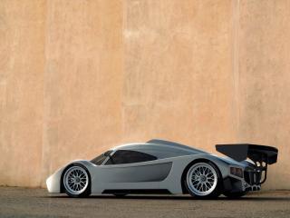 обои 2005 I2B Concept Project Raven Le Mans Prototype на фоне стены фото