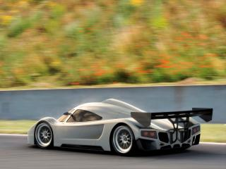 обои 2005 I2B Concept Project Raven Le Mans Prototype разгоняеться фото