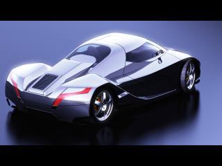 обои 2006 I2B Concept WildCat сзади бочком фото