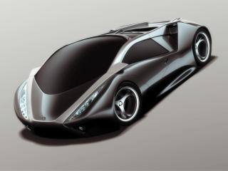 обои 2007 I2B Concept Reus передок бочком фото