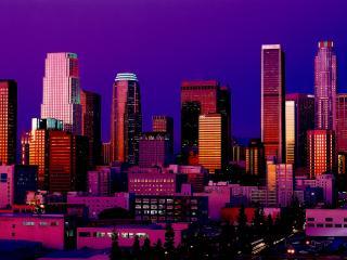 обои Ночь в мегаполисе фото
