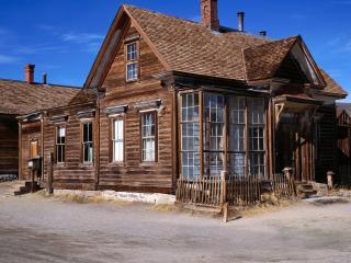 обои Деревянные домики фото