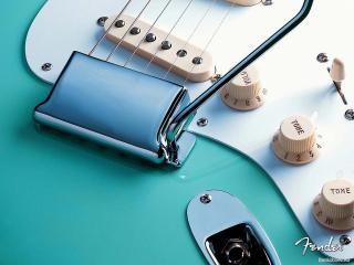 обои Синяя дека гитары фото