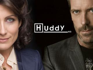 обои Доктор Хаус со своей начальницей фото